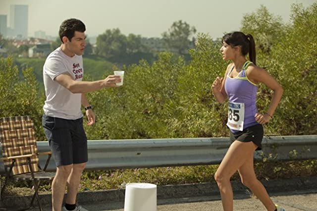 Max Greenfield and Hannah Simone in New Girl (2011)
