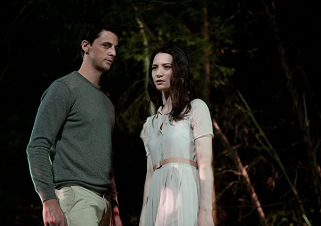 Matthew Goode and Mia Wasikowska in Stoker (2013)