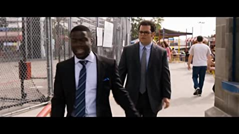 The wedding ringer dance scene from saturday