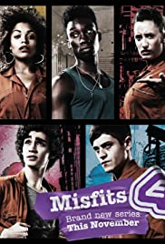 Misfits Poster - TV Show Forum, Cast, Reviews