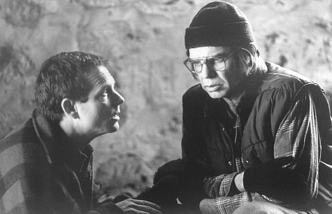 Bill Paxton and Billy Bob Thornton in A Simple Plan (1998)