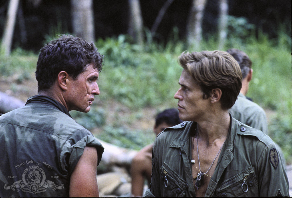 an essay on religion and oliver stones war film platoon