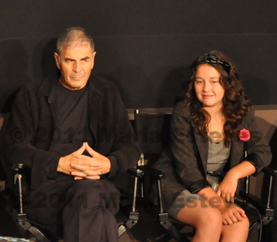 Robert Forester and Amara Miller at the New York Film Festival
