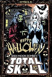 Total Skull Halloween Poster