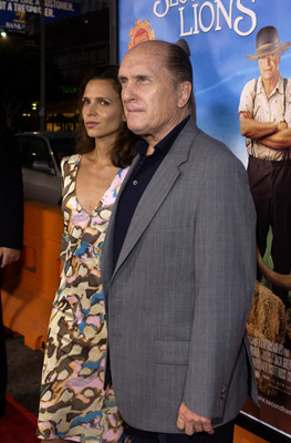 Robert Duvall and Luciana Pedraza at Secondhand Lions (2003)