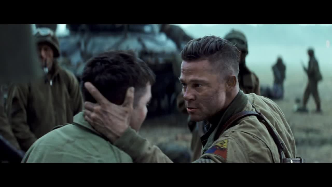 Fury IMDb - New official trailer fury starring brad pitt