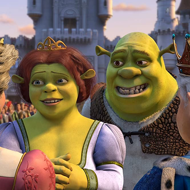 Cameron Diaz and Mike Myers in Shrek 2 (2004)