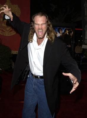 Tyler Mane at Harry Potter and the Chamber of Secrets (2002)