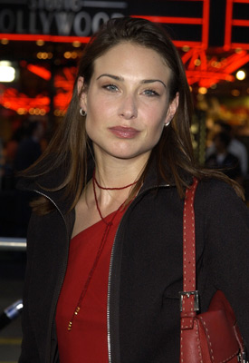 Claire Forlani at an event for The Tuxedo (2002)