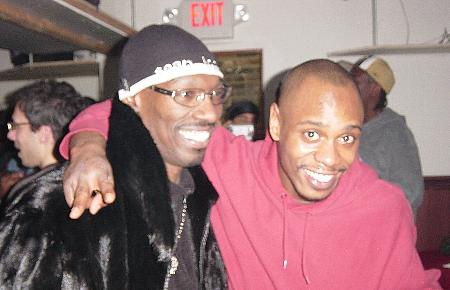 Dave Chappelle and Charlie Murphy