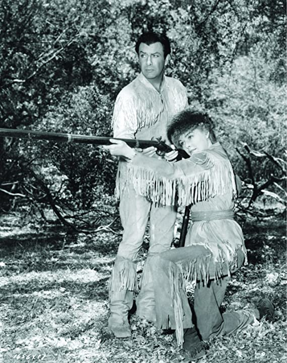 Robert Taylor and Eleanor Parker in Many Rivers to Cross (1955)