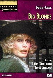 Big Blonde Poster