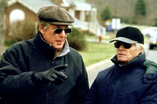 Director William Friedkin with producer Richard D. Zanuck