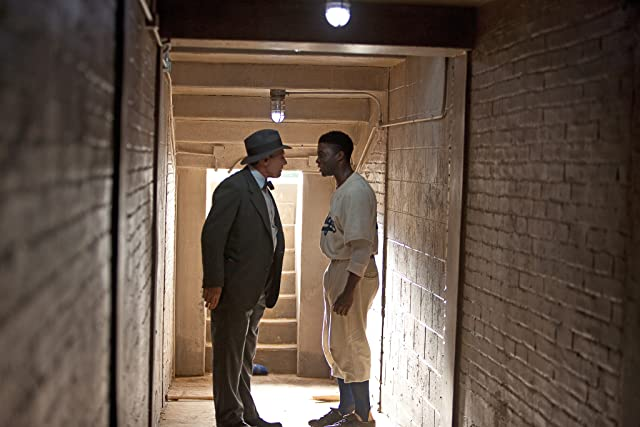 Harrison Ford and Chadwick Boseman in 42 (2013)