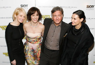 Demi Moore, Parker Posey, Ellen Barkin, and Mitchell Lichtenstein at an event for Happy Tears (2009)