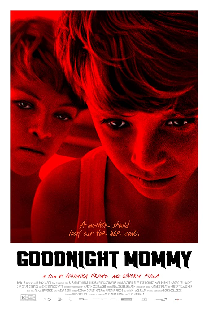 Goodnight Mommy poster do filme