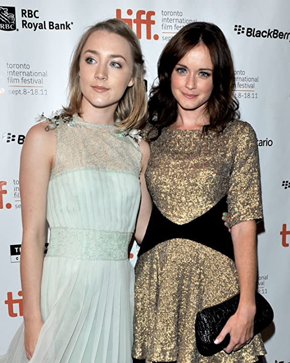 Alexis Bledel and Saoirse Ronan