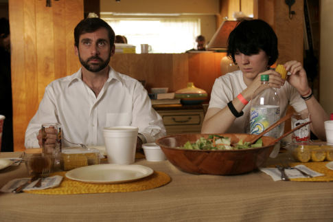 Steve Carell and Paul Dano in Little Miss Sunshine (2006)