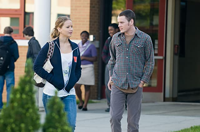 Anton Yelchin and Jennifer Lawrence in The Beaver (2011)