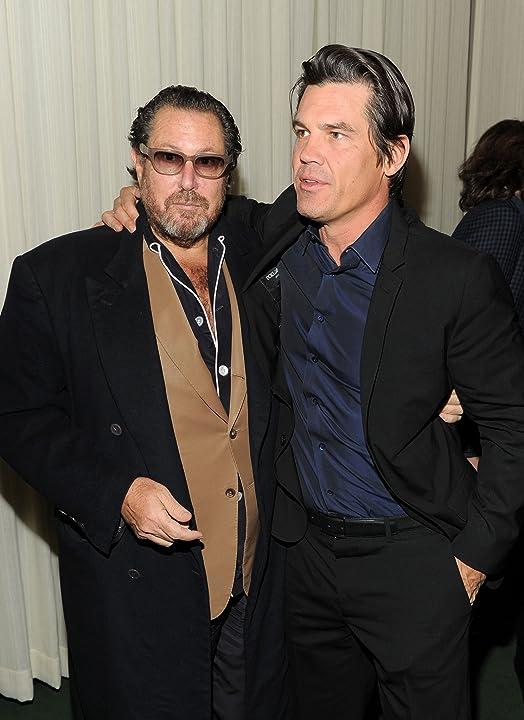 Josh Brolin and Julian Schnabel at Miral (2010)