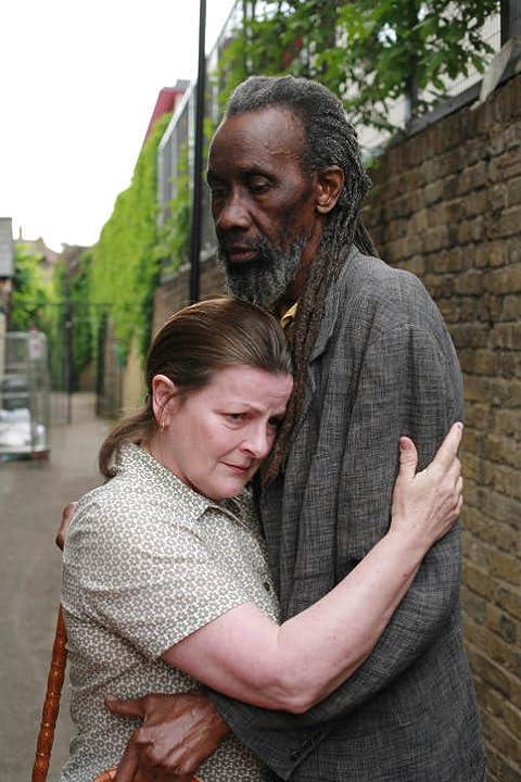Brenda Blethyn and Sotigui Kouyaté in London River (2009)