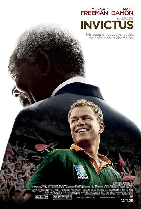 Morgan Freeman and Matt Damon in Invictus (2009)