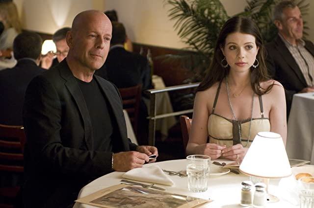 Bruce Willis and Michelle Trachtenberg in Cop Out (2010)