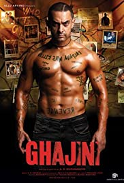 Ghajini (2008) Poster - Movie Forum, Cast, Reviews