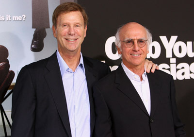 Larry David and Bob Einstein at Curb Your Enthusiasm (2000)