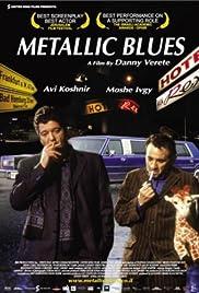 Metallic Blues Poster