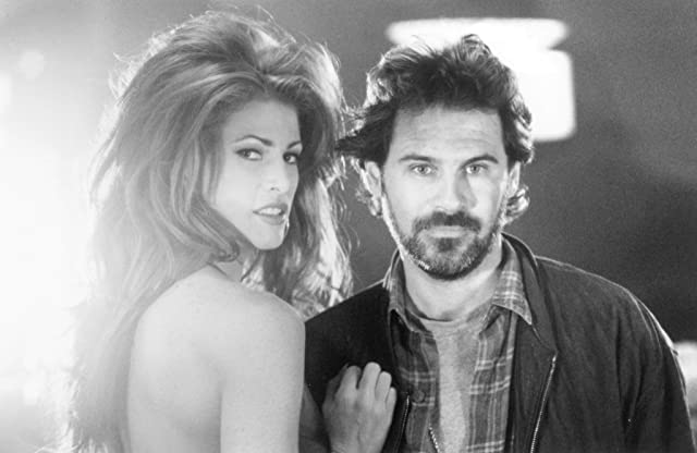 Angie Everhart and Dennis Miller in Bordello of Blood (1996)