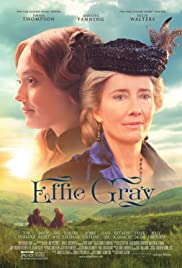 Effie Gray (2014) Poster - Movie Forum, Cast, Reviews