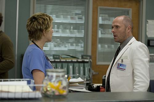 Edie Falco and Paul Schulze in Nurse Jackie (2009)