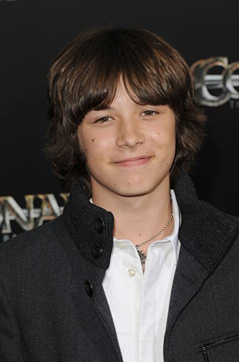 Leo Howard at an event for Conan the Barbarian (2011)