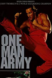 One Man Army Poster