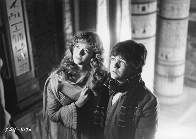 Sophie Ward and Alan Cox in Young Sherlock Holmes (1985)