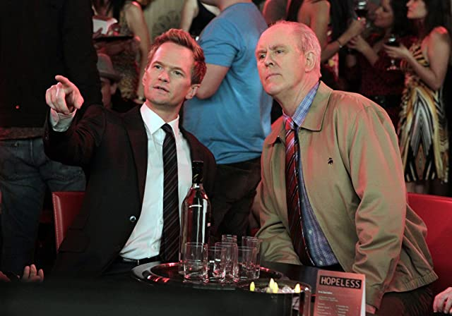 Neil Patrick Harris and John Lithgow in How I Met Your Mother (2005)