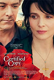 Certified Copy (2010) poster