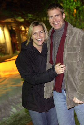 Blanchard Ryan and Daniel Travis at an event for Open Water (2003)
