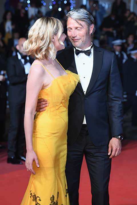 Kirsten Dunst and Mads Mikkelsen at an event for The Neon Demon (2016)