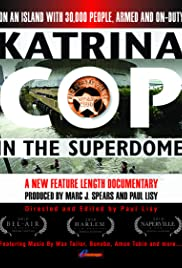 Katrina Cop in the Superdome Poster