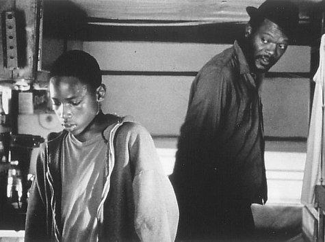 Samuel L. Jackson and Sean Nelson in Fresh (1994)
