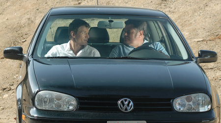 Michael Badalucco and Philip Winchester in In My Sleep (2010)
