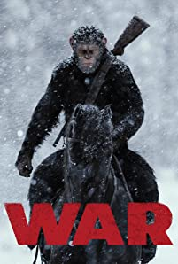 A nation of genetically evolved apes led by Caesar become embroiled in a battle with an army of humans.