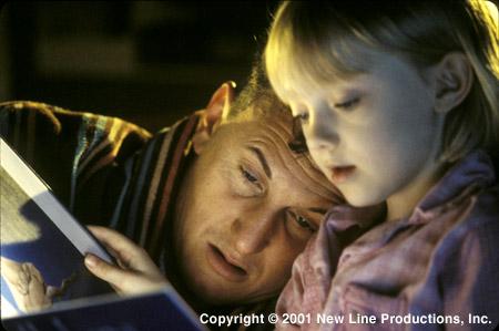 Sean Penn and Dakota Fanning in I Am Sam (2001)