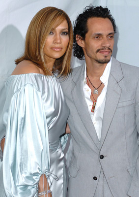 Jennifer Lopez and Marc Anthony at an event for Monster-in-Law (2005)