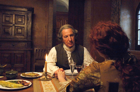Alan Rickman and Rachel Hurd-Wood in Perfume: The Story of a Murderer (2006)
