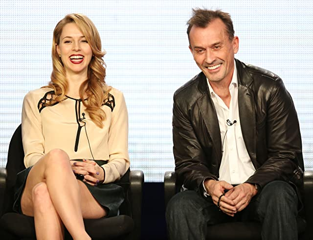 Robert Knepper and Alona Tal at an event for Cult (2013)
