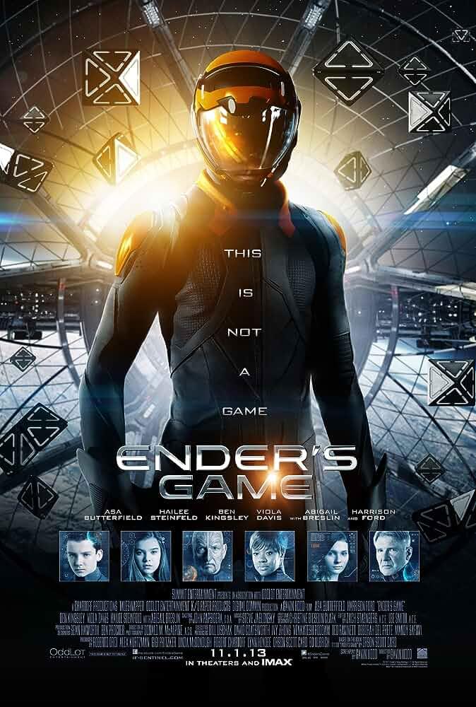 Ender's Game 2013 720p BRRip Dual Audio watch online free download at movies365