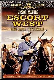 Escort West Poster